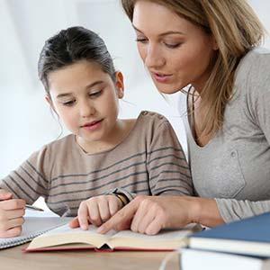 отработка домашних заданий со школьниками; программа подготовки к школе детей дошкольного возраста