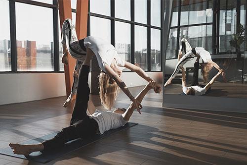 Йога на Мичуринском