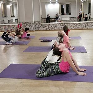 Занятия стретчингом растяжкой в Москве